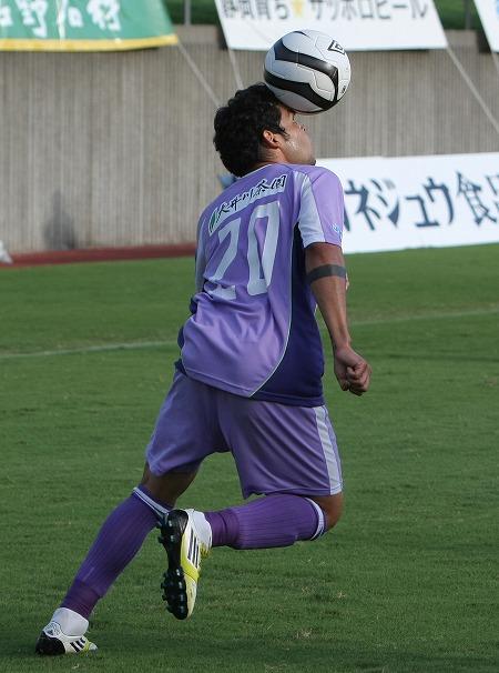 Kerlon torna a divertirsi con il Fujieda, in Serie C giapponese