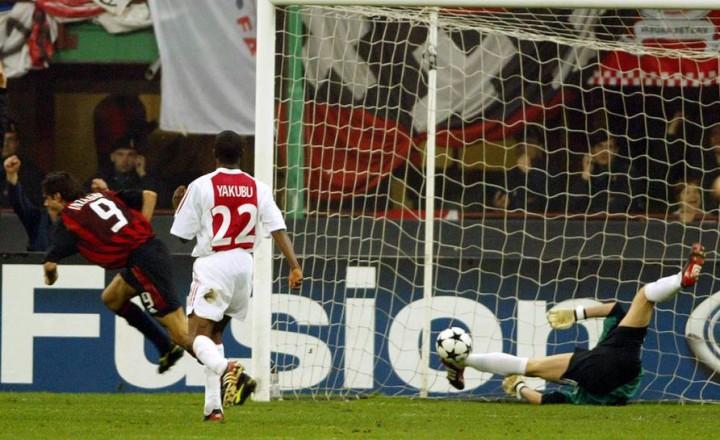 """Milan-Ajax e il gol di Tomasson """"rubato"""" ad Inzaghi"""