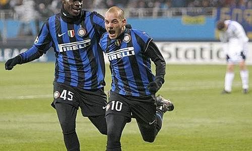 Il gol di Sneijder a Kiev da il via al Triplete nerazzurro